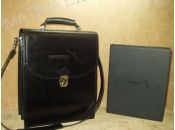 Leather Bag With Ring Binder For Sellers