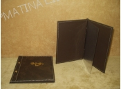 Leatherette Cover Catalague A5