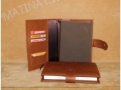 Leather Cover Diary 17X25cm